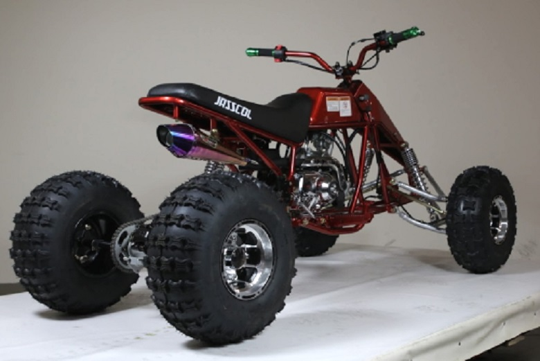 Hot New Model Reverse 125cc Dragster Quad ATV Four Wheeler 3 Speed