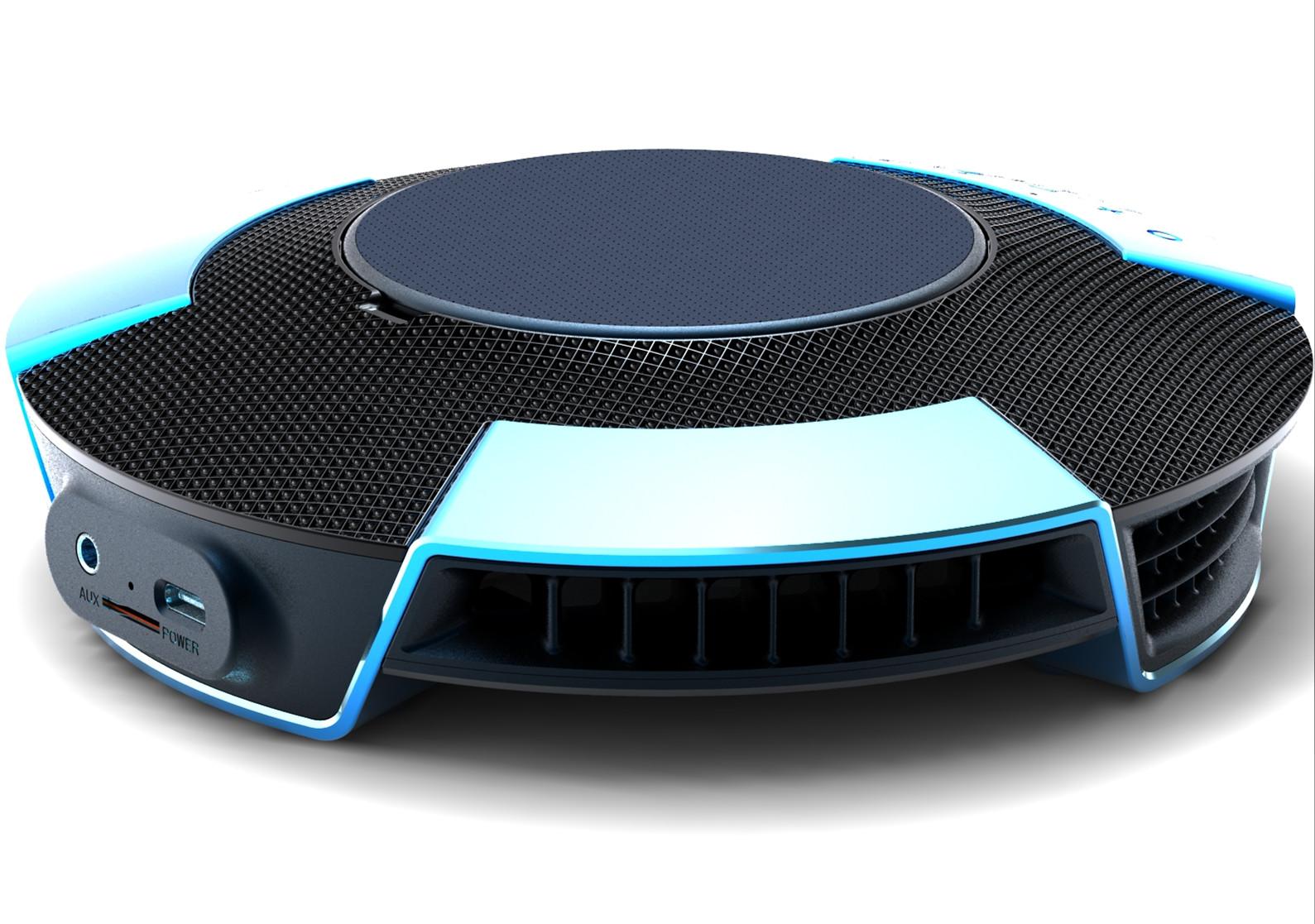 UFO Bluetooth Speaker Wireless Charging FM Radio Aromatherapy Case Smart Wireless Bluetooth Speaker