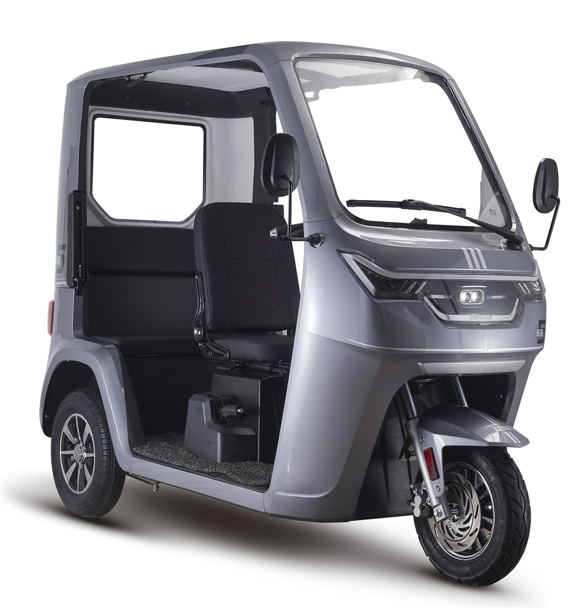 2021 EEC Approval Tuk Tuk New Half Open Electric Tricycle For Passenger