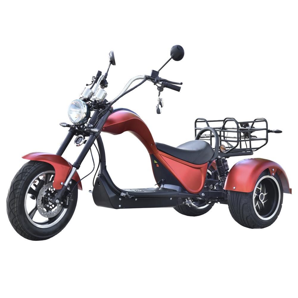 2021 New Design Electric Scooter Elektro Roller Cobra 4000W 45kmh 24AH