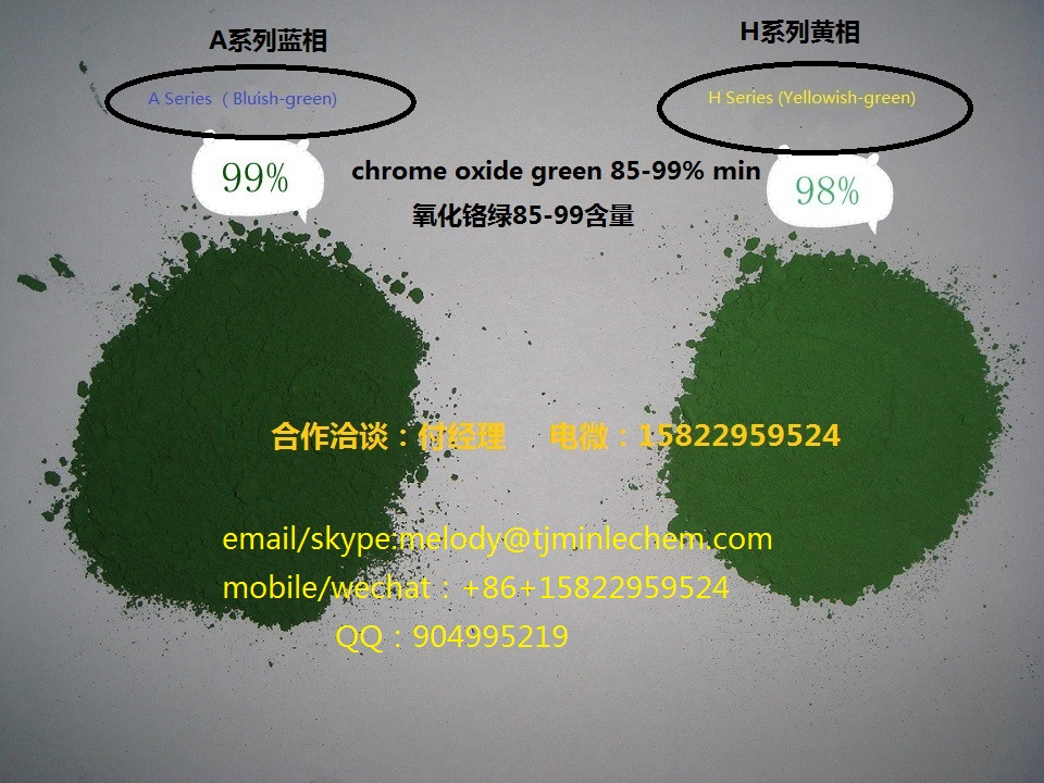 chrome oxide green in ceramicenamel refactory and glass indudtried