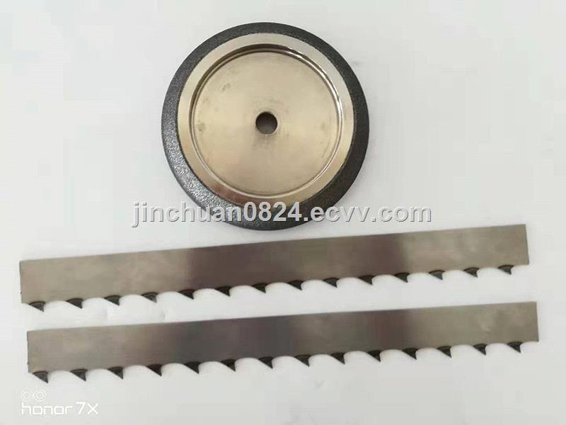 8 inch electroplated CBN Grinding Wheel Sharpening Band Saw Wheel