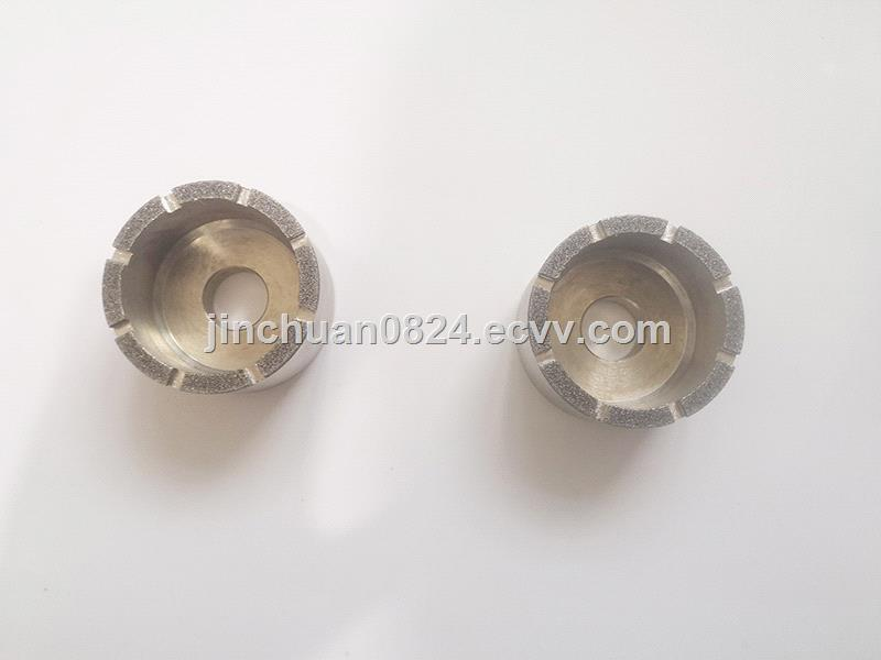 6A2 Cup Type Electroplated Diamond Grinding Wheel