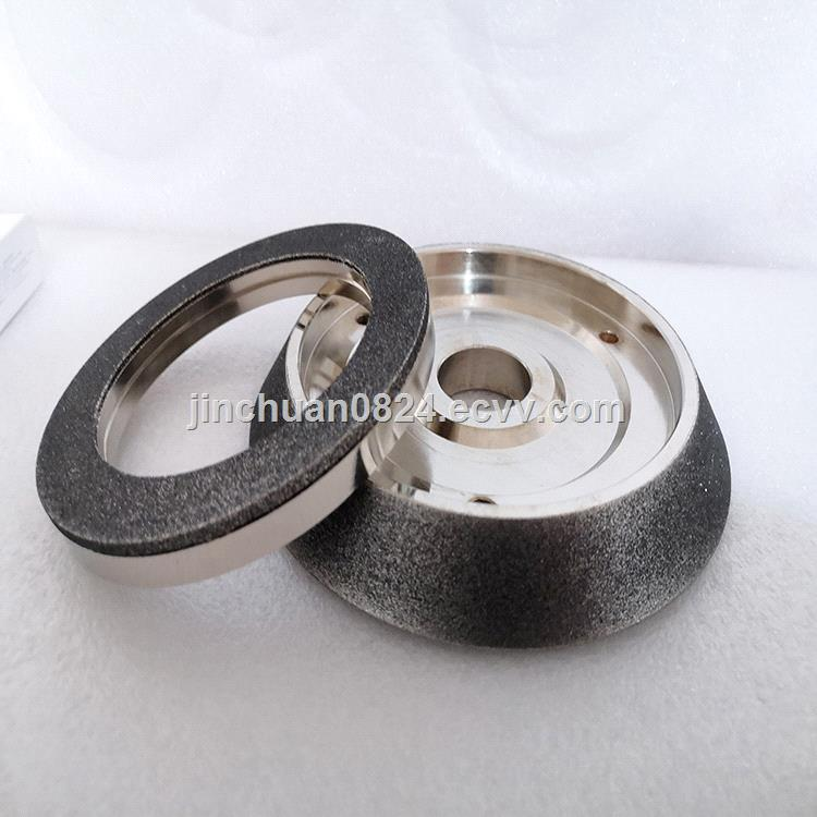 Combined cubic boron nitride grinding wheel to sharpen steel tools