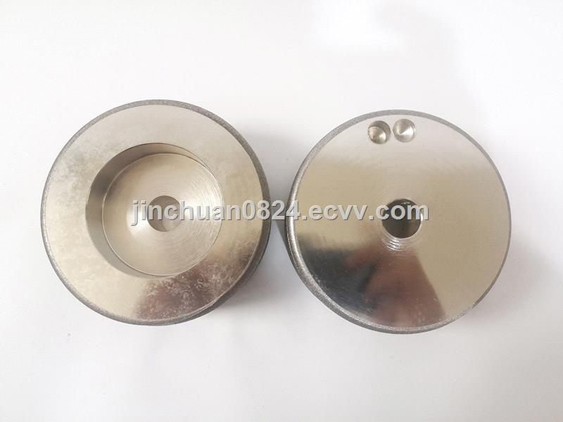 Customized electroplated cubic boron nitride grinding wheel for scissors grinding