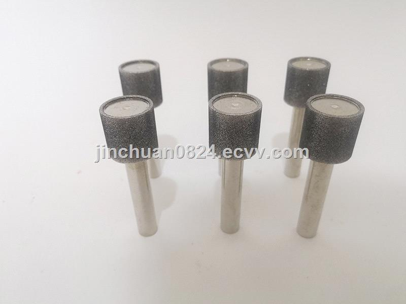 Deburring of Inner Hole of Electroplated Cubic Boron Nitride Steel