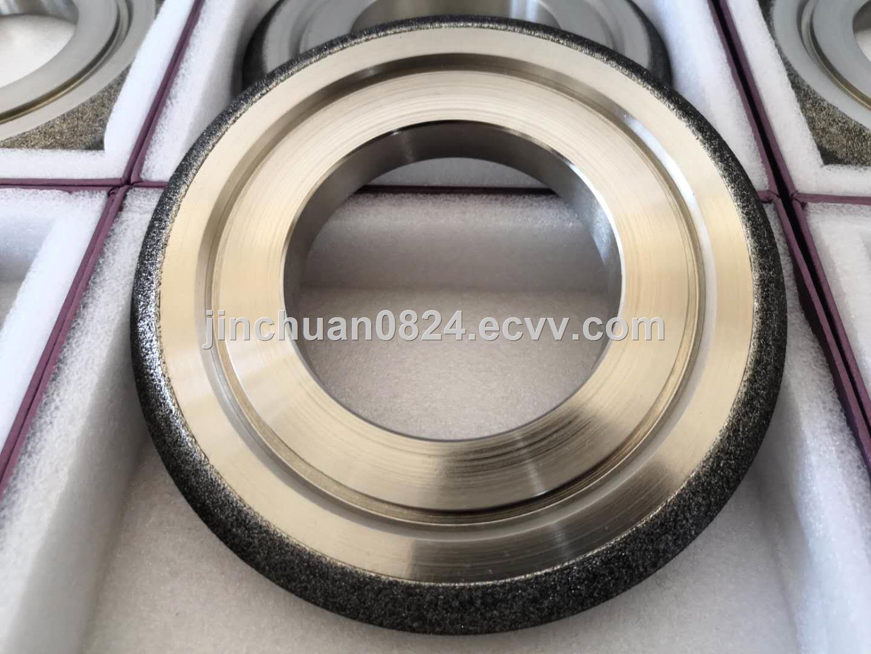 Irregular Arc Electroplated Cubic Boron Nitride Grinding Wheel