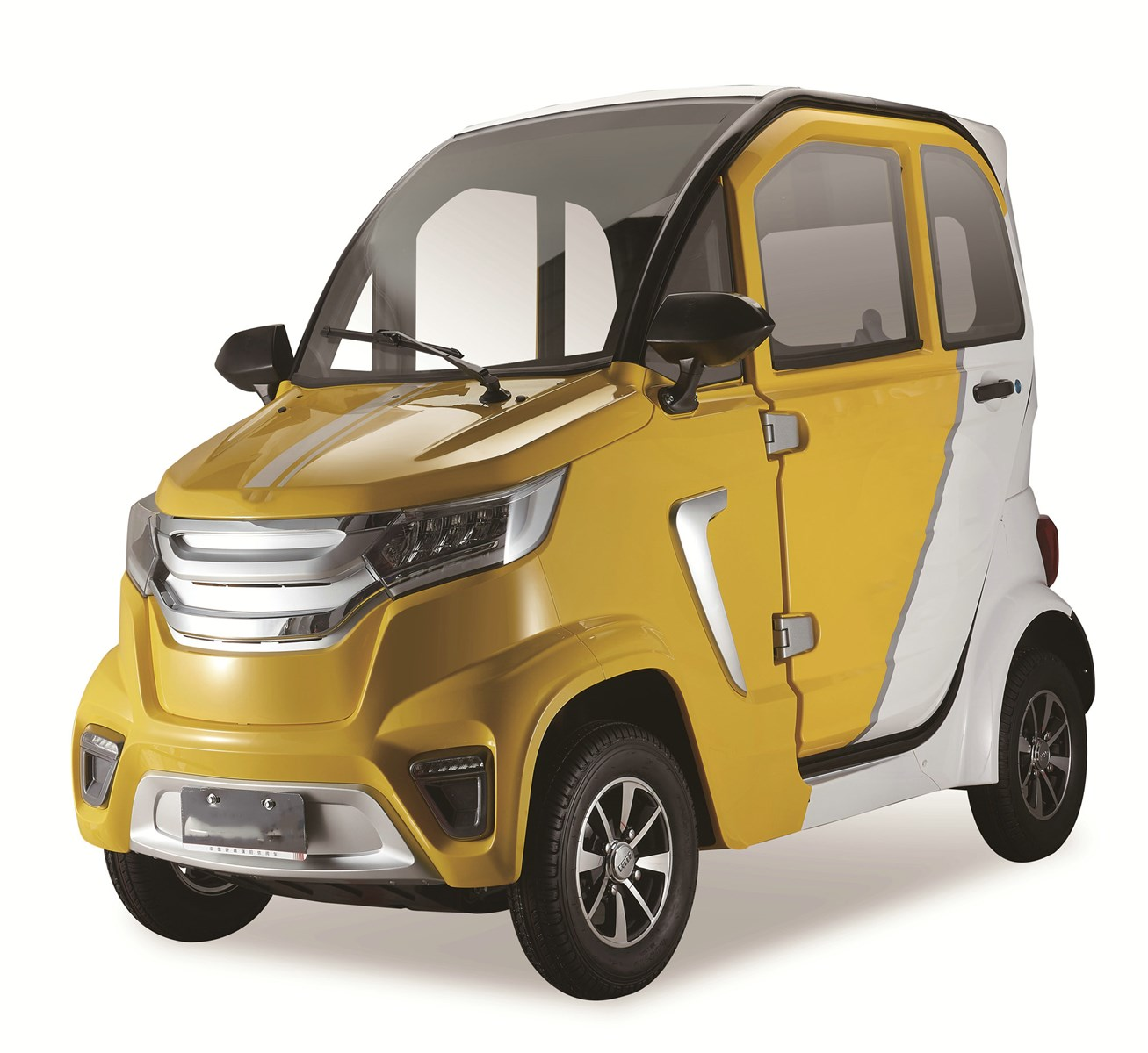 2021 New Style high quality L6e EEC Approval 3 Seat Electric Vehicles Mini Cars With COC
