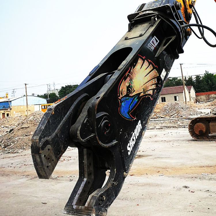 Powerful Excavator Hydraulic Scrap Demolition Shears Cutters from Professional Supplier
