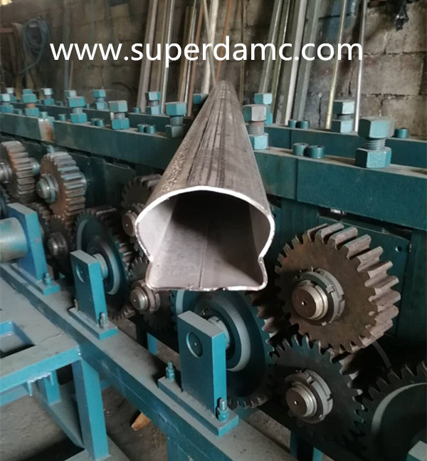 Handrail Tube Roll Forming Machine