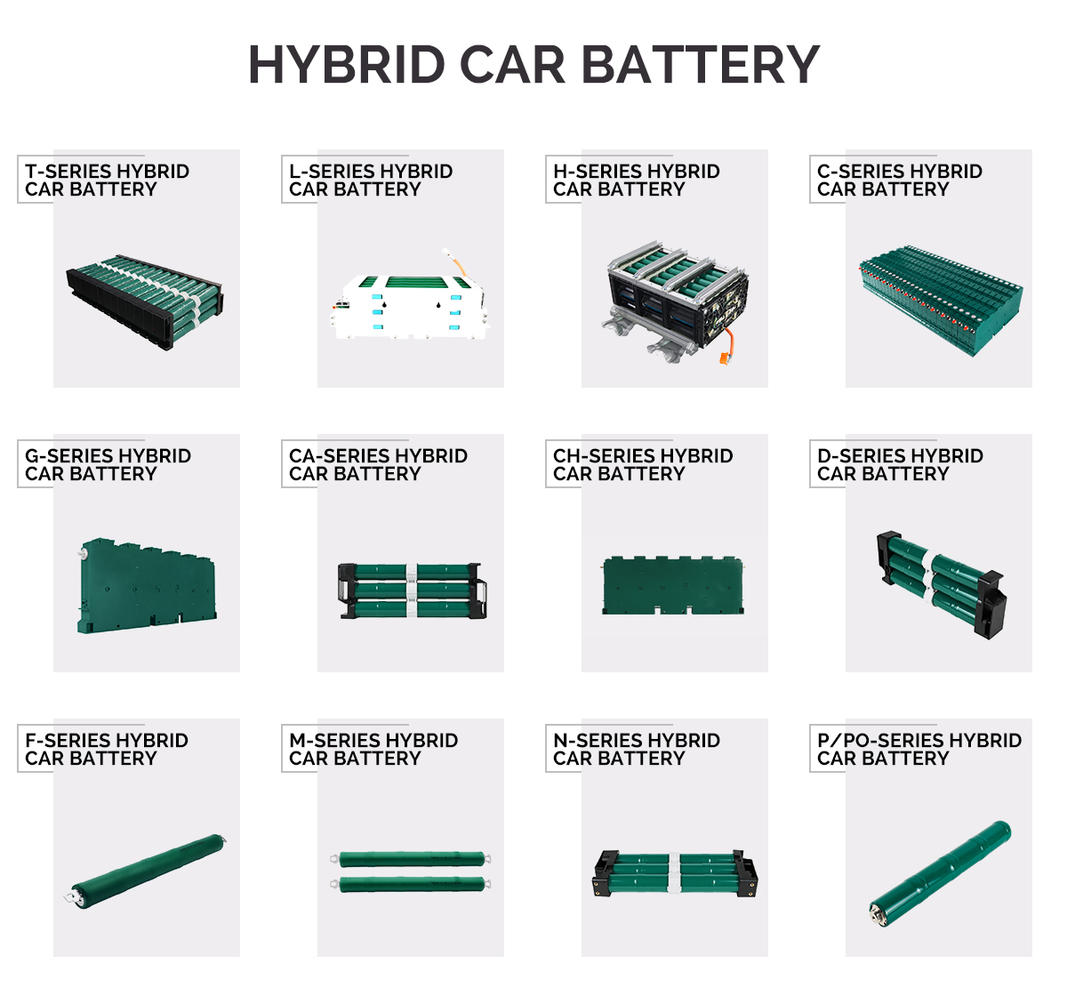 Ennocar 3 Year Warranty Car Battery for Toyota Prius C Aqua 2012 2013 2014 2015 2016 2017