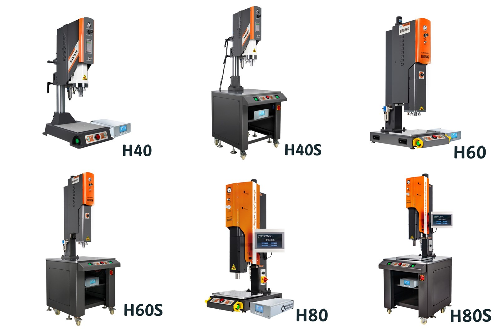 H60 Highprecision Repeatable Positioning 800W 1200W 2500W 3000W Ultrasonic Desktop Plastic Welding Machine