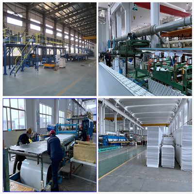 China Supply HVAC Ventilation Duct Board Steel Covered Phenolic Foam Sandwich Panel