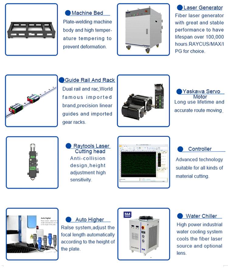 High Speed Carbon Fiber Laser Cutting Machine 1530
