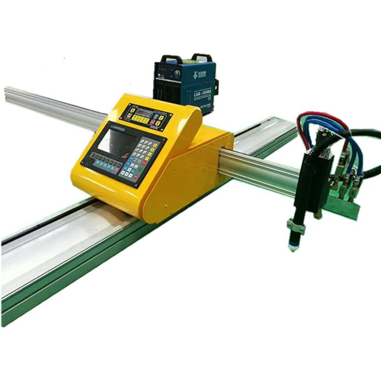 portable CNC plasma steel cutter cheap chinese CNC plasma cutting machine