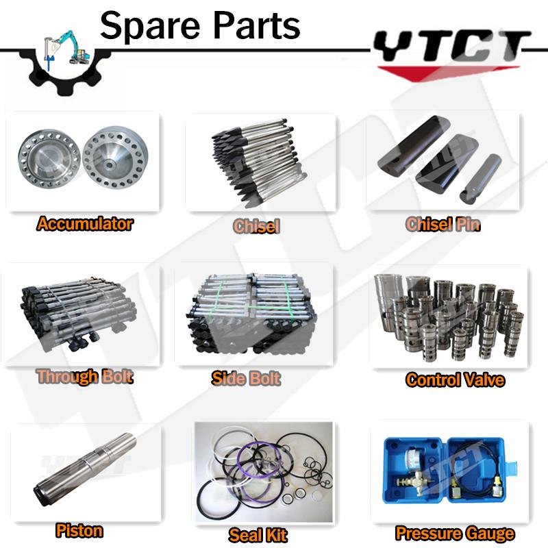 Hydraulic Breaker Spare Parts Accumulator