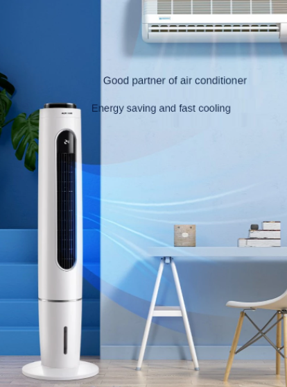 Oaks conditioning fan air cooler household small dormitory mobile no leaf water small air condition