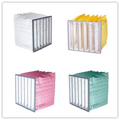 Professional Custom Medium Efficiency Bag Air Filter