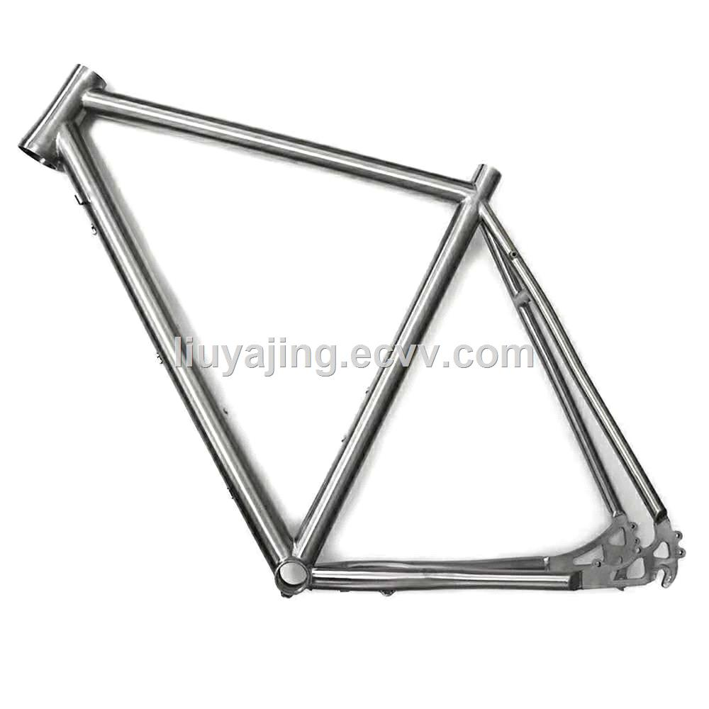 titanium alloy bicyclesMTBRoad bicyclesfoldingHigh qualityframelighter stronger and more durablemanufacturer