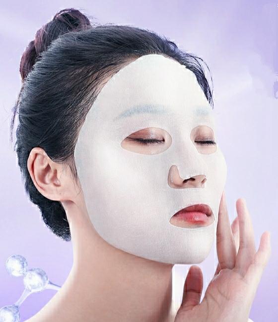 Skin Care Natural Fruit Plant Facial Mask Moisturizing OilControl Blueberry Cucumber Pomegranate Fruit Aloe Sheet Face
