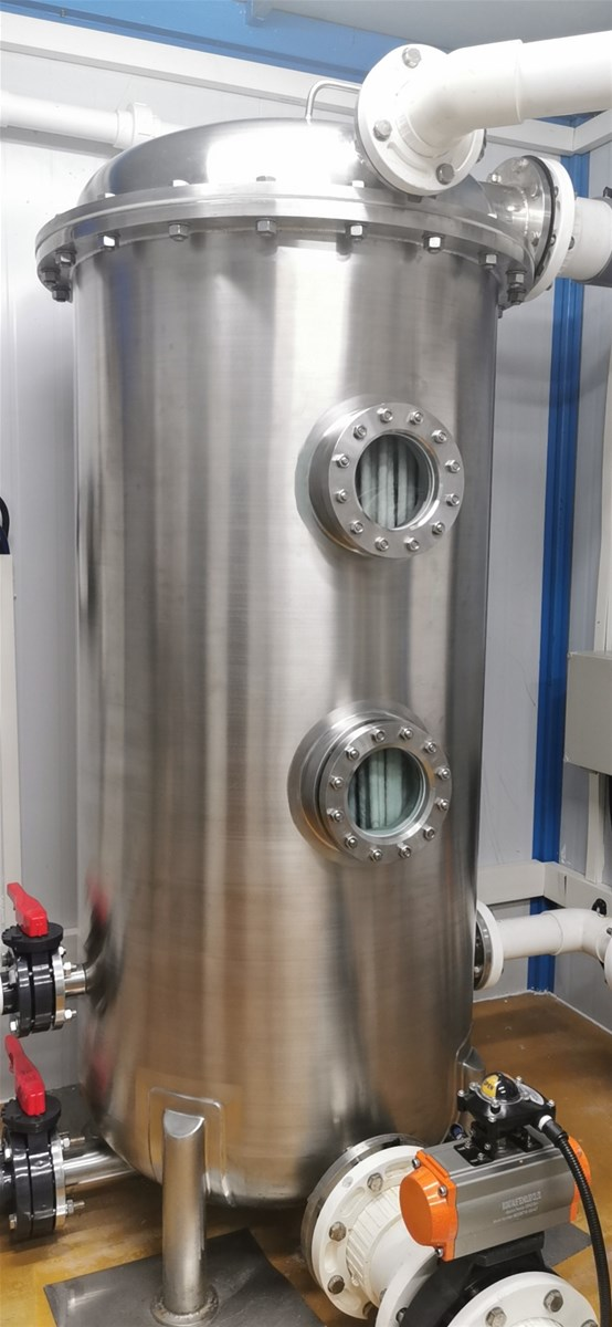 Regenerative Media Filter Perlite Filter 304 Stainless Steel Filter