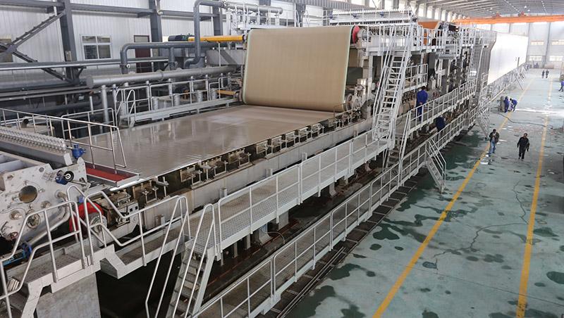 KraftTestliner Paper Making Machine