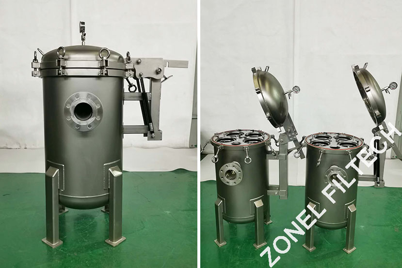 SS Stainless Steel Filter Housing SS filter vessels