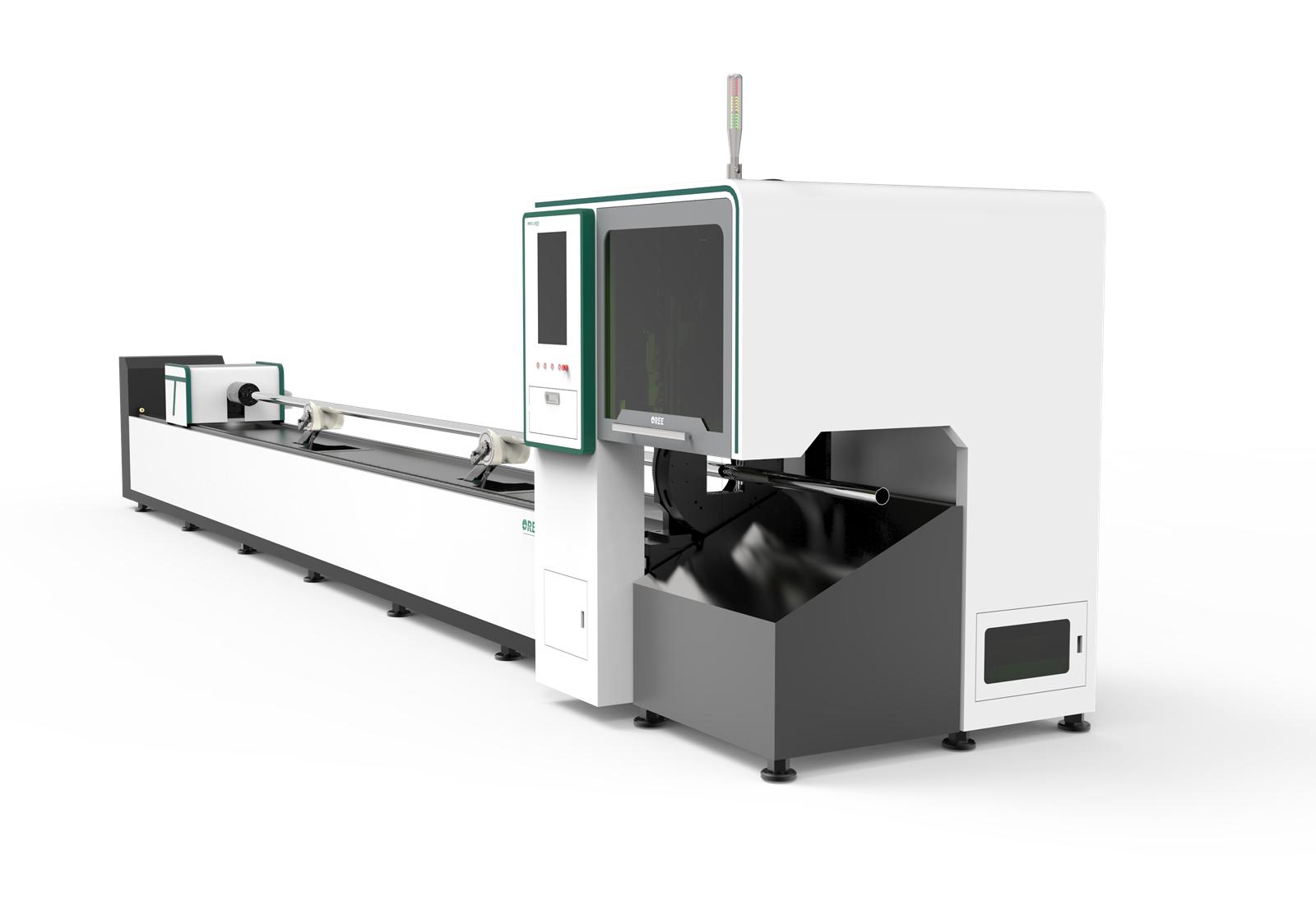 high quality fiber laser cutting machine for tube metal cutting