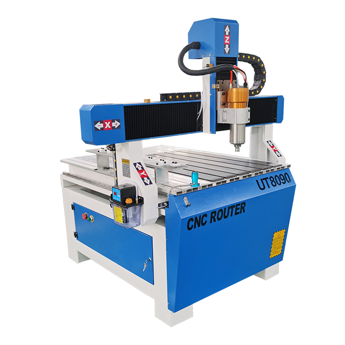 Wood Working Machinery 3 Axis ATC Spindle Motor Engraving Machine