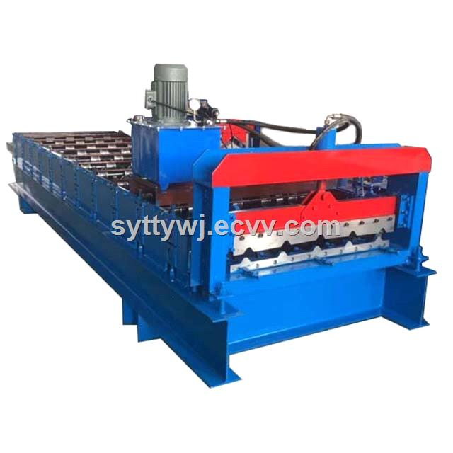 840 Color Steel Roofing Sheet Forming Machine