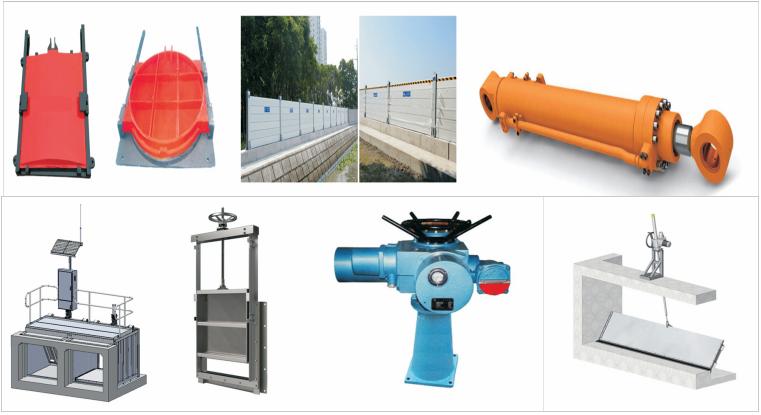 PZM Manual or Electric Aluminum Alloy Sluice Gate