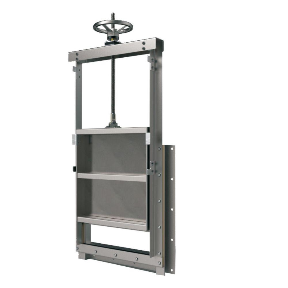 manual square water Penstock Steel sluice gate