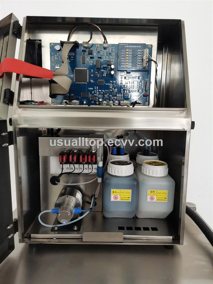 Cij Printer for CartonPE BagPaper BagPVC PipeBottleAluminum Box CodingDateContinuous inkjet