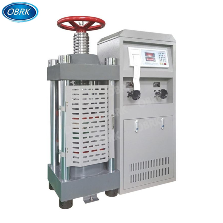 2000KN Manual Compression Testing Machine OBRK 2000