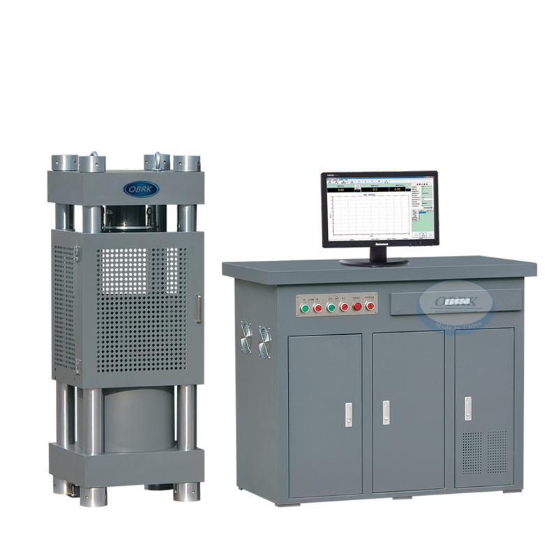 3000KN Electrohydraulic servo compression testing machine CTME3000