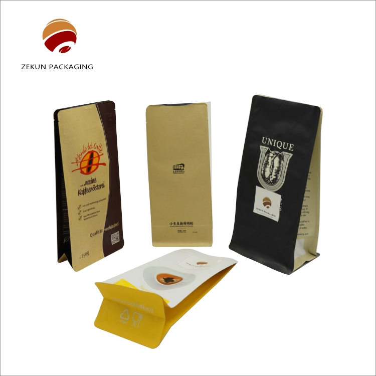 Chinese manufacturers custom printed coffee bags