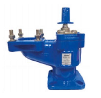 Air valves for pipe connections and multiple certification