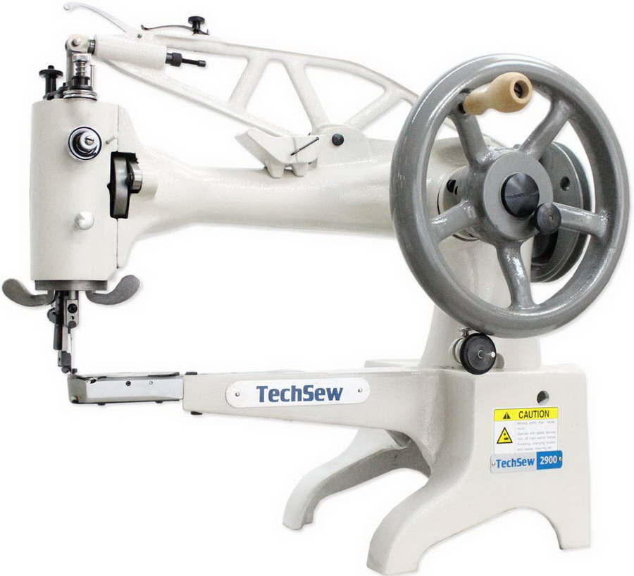TECHSEW 2900 12 CYLINDER PATCHING INDUSTRIAL SEWING MACHINE
