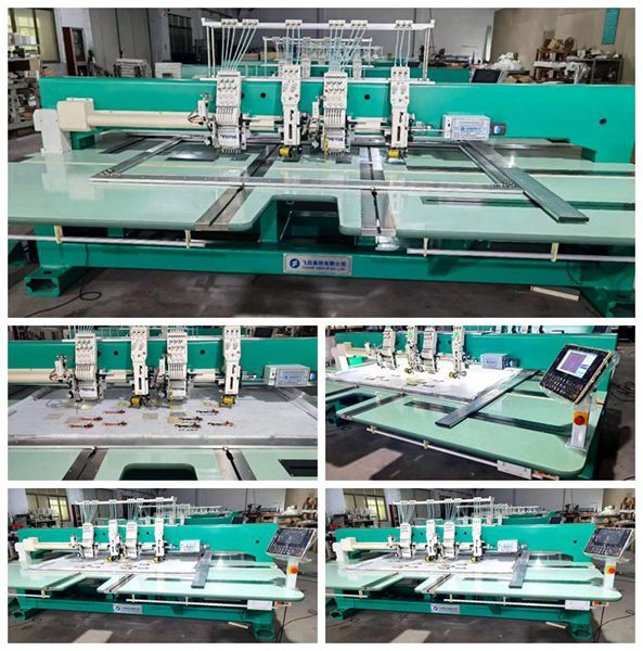 cording embroidery machine2 heads6 needlesespecial textile machine