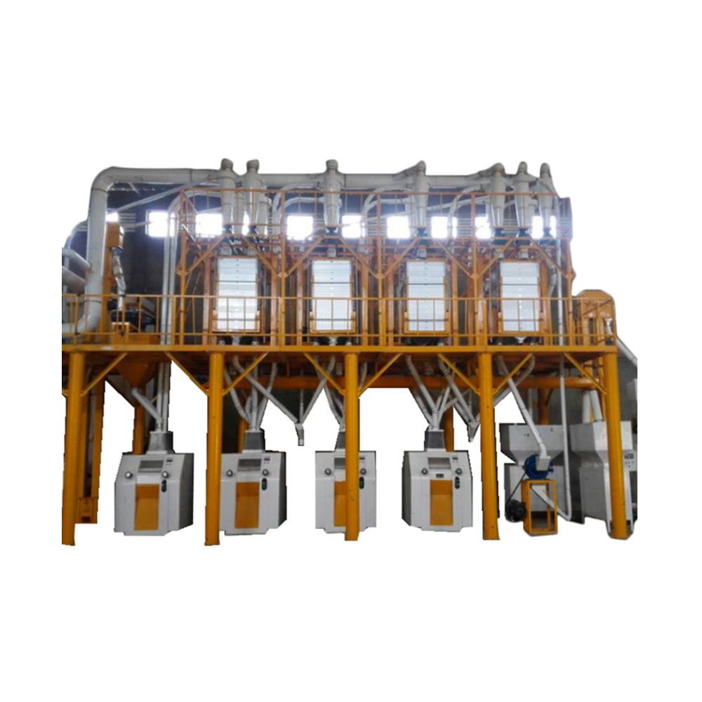 maize milling machine grinding mill automatic agricultural 50 T maize corn milling machine