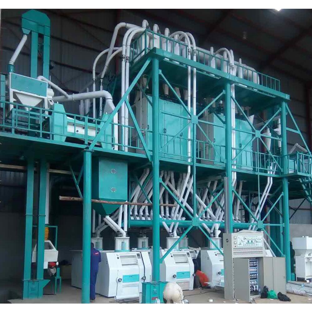 wheat maize corn rice flour making mill small wheat flour mill milling machine machinery