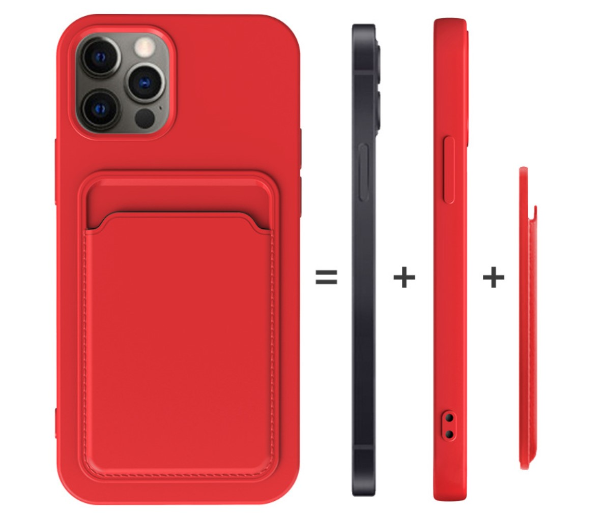New Design Detachable Magnetic Leather Phone Case for Iphone Series