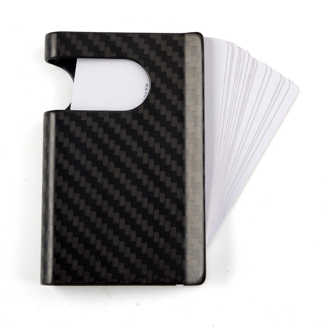 Carbon Fiber Business Card Holder Wallet
