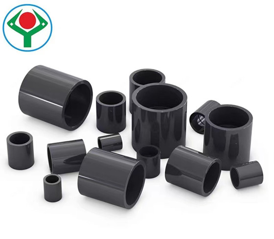 PVC straight joint chemical flat joint straight water supplyadapter 20 25 32 4