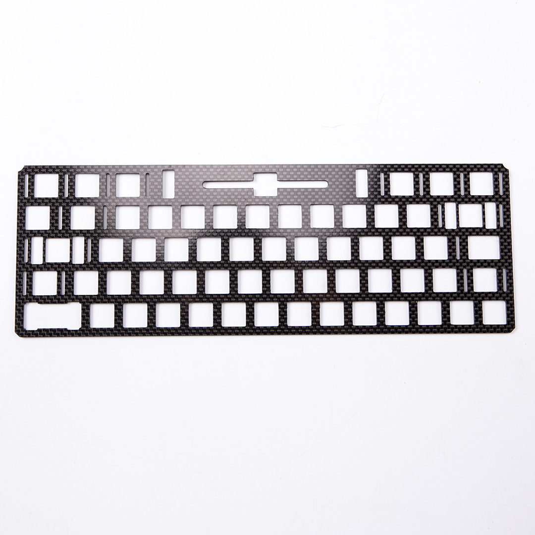 Forged Carbon Fiber Keyboard Cover