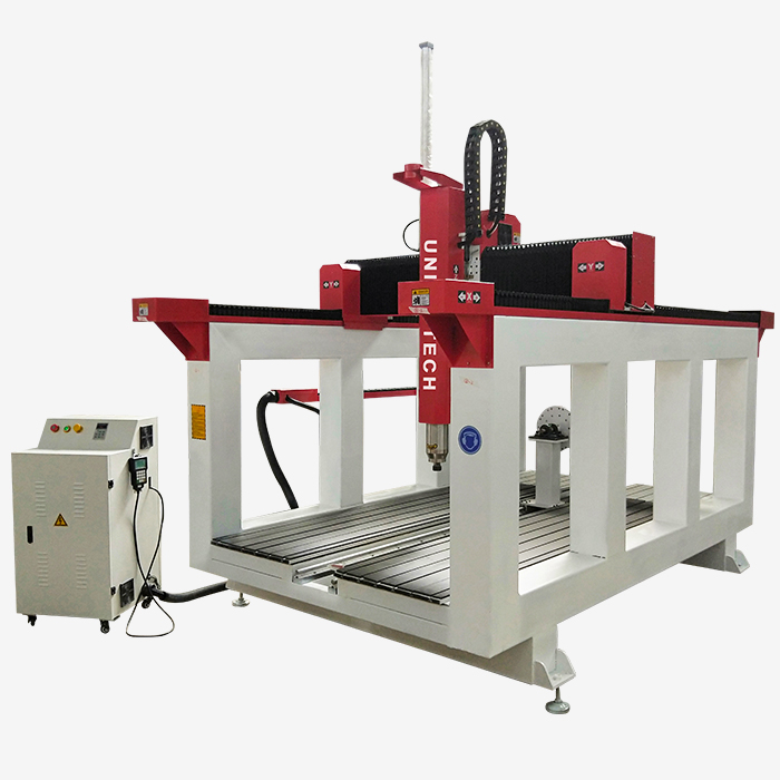 High Quality Wood Milling Machine CNC Rotary 3D Router 4 Axis Wood Foam Engraving Machine