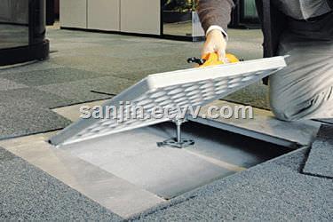 STEEL ACCESS FLOOR OA BARE PANEL STEEL PANEL with HPL PVC CERAMIC