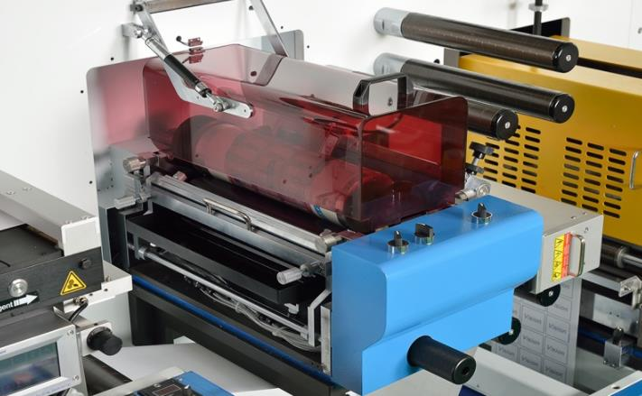 RDF330 Label Digital Finishing Machine Diecutting System Converting Equipment with Printing Function