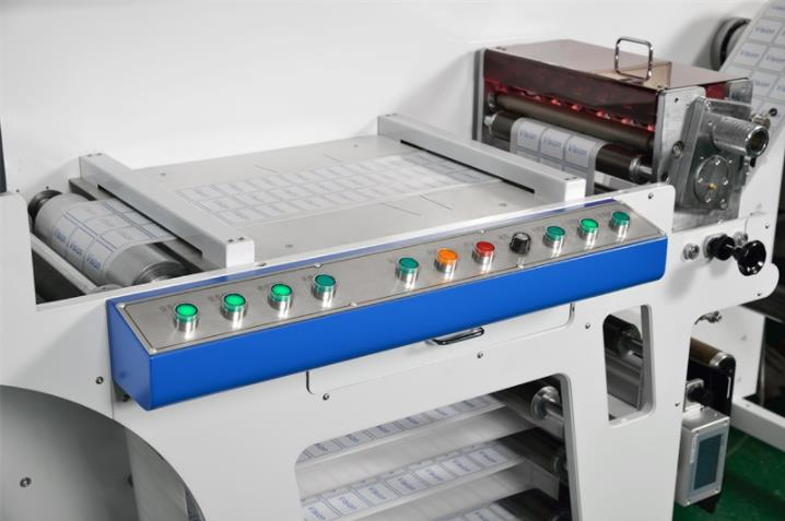 VSA370 High Speed Inspection Slitting Machine Roll to Roll Adhesive PET Film Inspection Rewinding Machine