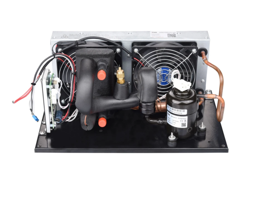 DC Condensing Unit with Evaporator in Refrigeration for Compact battery system